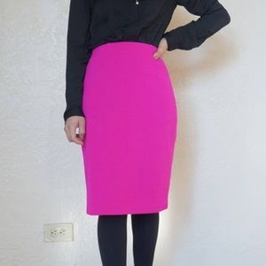 Dana Buchanan VINTAGE 80s knit pencil skirt small